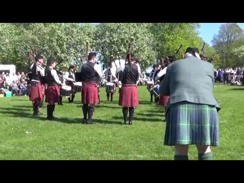 Aughintober Pipe Band @ Ards & North Down Pipe Band Championships 2016 (Grade 2)