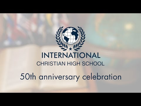 CEDAR GROVE / INTERNATIONAL CHRISTIAN HIGH SCHOOL (50th YEAR ANNIVERSARY)
