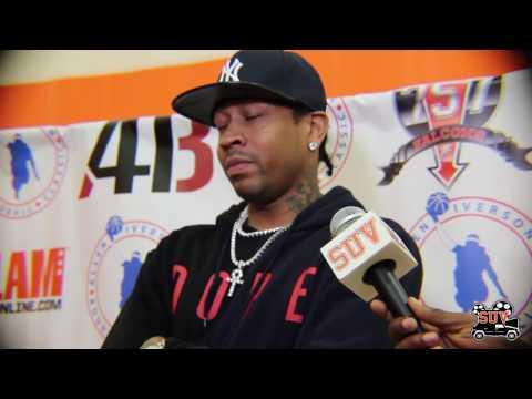 Allen Iverson Interview: Talks Georgetown, The NBA, & His Inaugural Roundball Classic