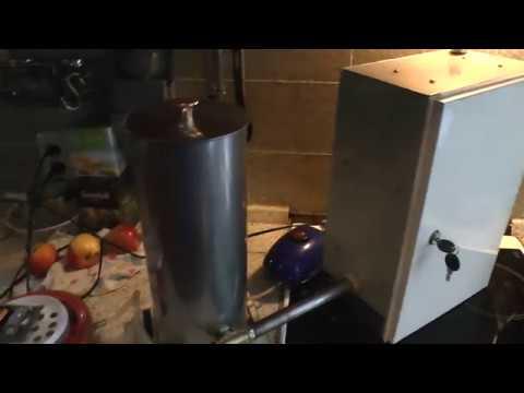 генератор холодного дыма для копчения своими руками видео