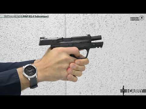 I Carry: Smith & Wesson M&P M2.0 Subcompact in a PHLster Holster