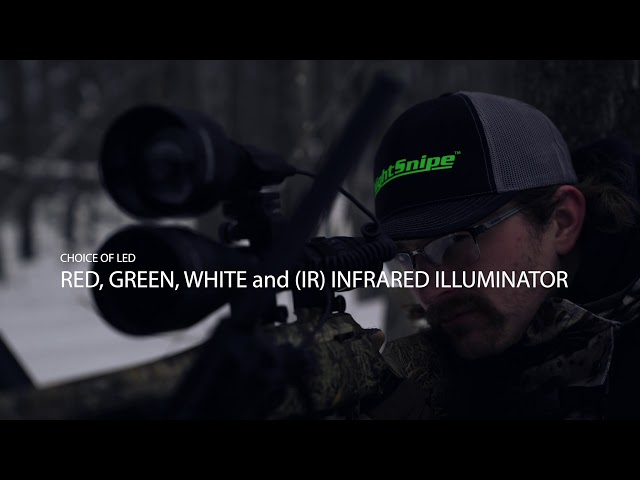 NEW! NightSnipe NS750 Extreme Hunting Light & Infrared Illuminator by Predator Hunter Outdoors!