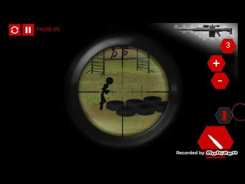 Stick Squad 4 - Sniper's Eye - Mission 9 - Boot Camp (Playthrough)