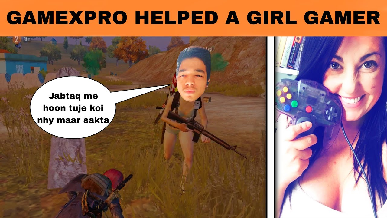 GameXpro teaching a girl gamer how to play pubg but she thinks i am a hacker and carder | OP Mrimay