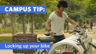 Campus Tip: Bike Locks