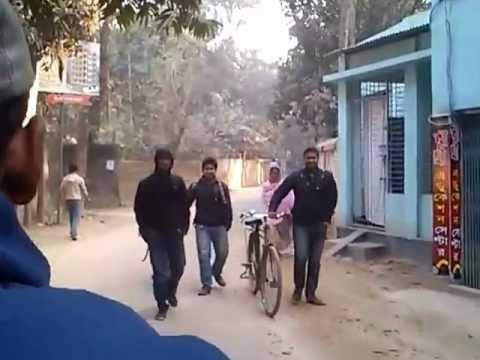 Rickshaw ride in Tangail in the morning