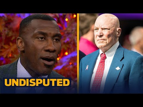 Shannon Sharpe reacts to Bob McNair's comments at the NFL owners' meeting | UNDISPUTED