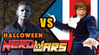 Michael Myers VS Mike Myers - HALLOWEEN NERD WARS!