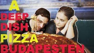 Megkóstoltuk a brutálisan laktató deep dish pizzát ⎮ PANÍR ALATT