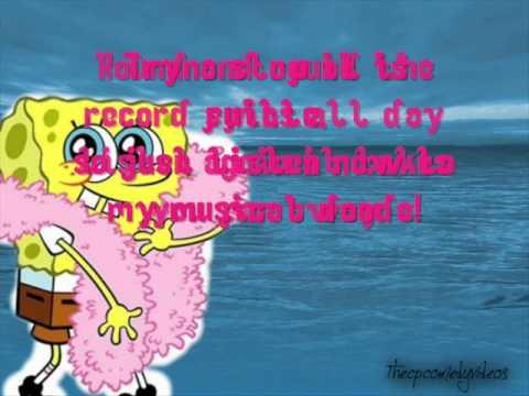The Sonars Ft. Spongebob Squarepants - Musical doodle [LYRICS!]