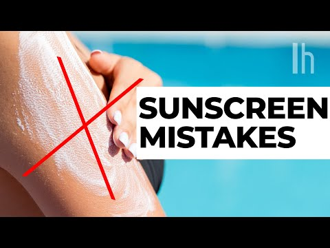 The Biggest Sunscreen Mistakes People Make