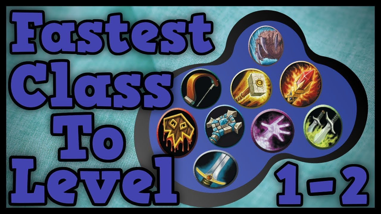 Which Class Levels The Quickest in Classic WoW Level 1 to 2?