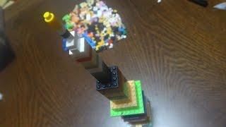 나노블럭 탑쌓기  놀이 - 높이 높이 나노블럭 만들기 ~Nano blocks