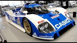 トヨタのグループC規定のプロトタイプレーシングカー。スポーツカー世界...