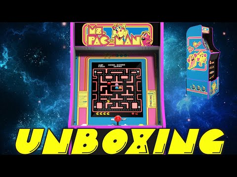 Ms. Pac-man Arcade1up - Unboxing, Thoughts & First Impressions from DThomasFromNC