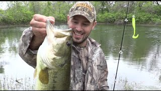 new kaboom swimabit catches a big bass