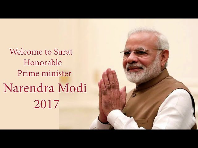 Prime Minister of India Visit at Surat 16 April 2017
