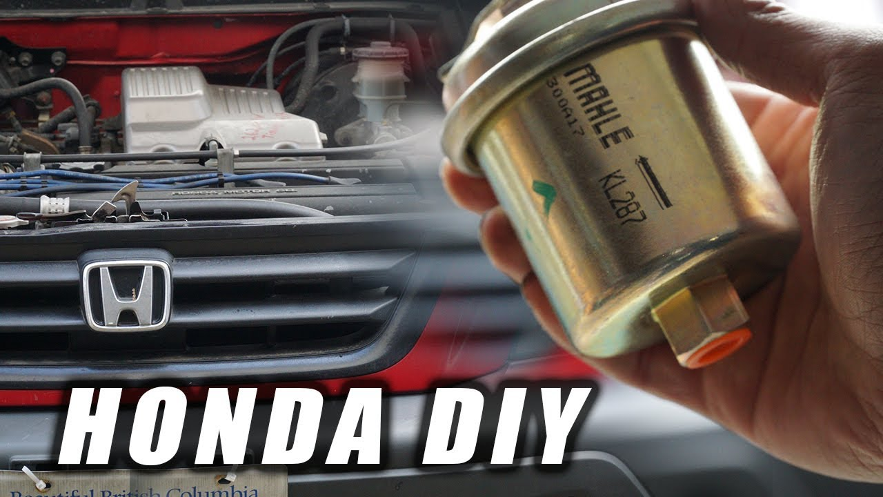 HOW TO: HONDA CRV FUEL FILTER REPLACEMENT - YouTubeYouTube