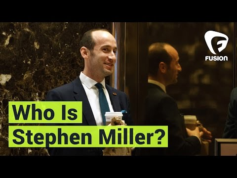 Who is Stephen Miller? The Guy Yelling at the Screen