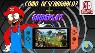 How to Download and Install Fortnite On Nintendo Switch Free Step by Step ? Gameplay Fortnite Switch