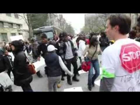 Chicago Tribune footage of Trauma Center Protest at UCMC 4/21/11