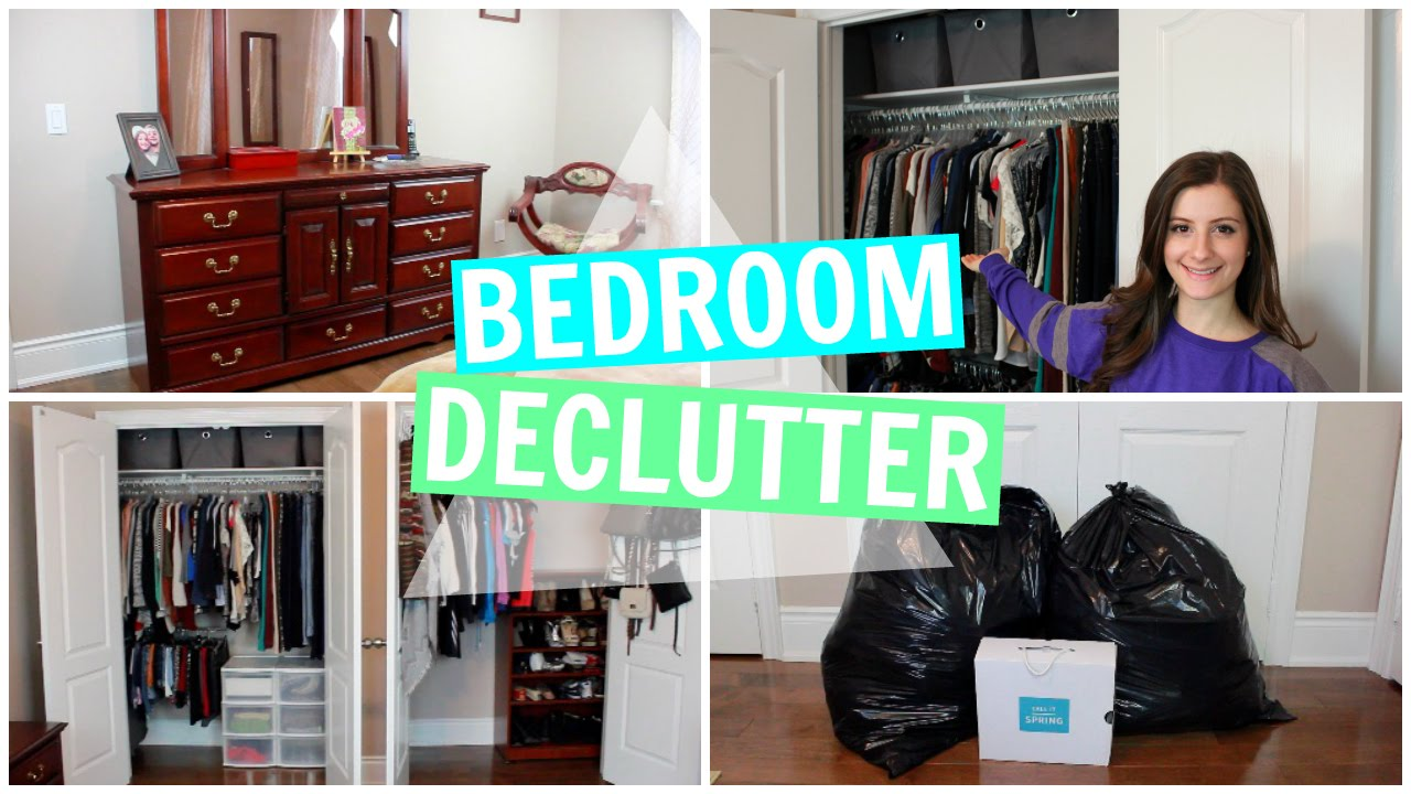 declutter bedroom.  BEDROOM DECLUTTER ORGANIZATION FOR THE NEW YEAR YouTube
