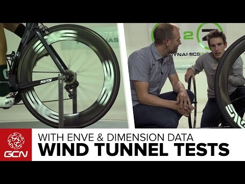 Wind Tunnel Testing With ENVE & Team Dimension Data – GCN Exclusive