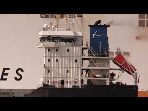 SOUSELAS Bulk/Cargo Ship, 22/04/2018.Thames Shipping by R.A.S.