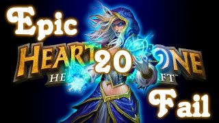 Hearthstone - Funny Moments and Epic Fail #20 (Trump...NOOOOO!!!)