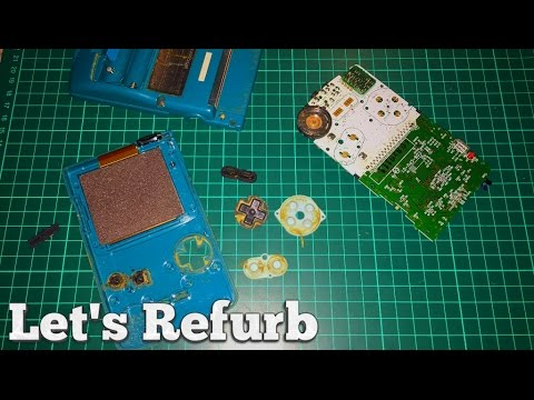 "Let's Refurb! - How to Repair a Gameboy Color - ""The Ghost Gameboy"""