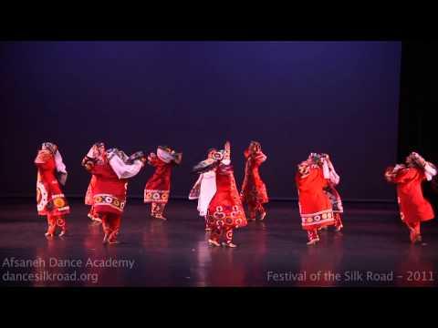 """Gulkhor""- Tajik Dance by Miriam Peretz"