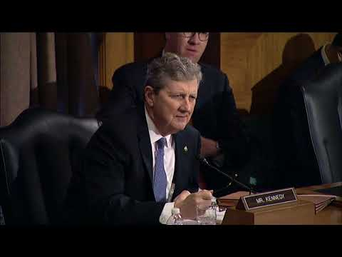 Sen. John Kennedy In Banking Committee With Jay Clayton
