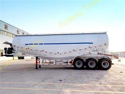 45 m3 dry bulk cement tanker trailer for sale
