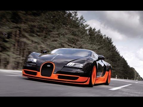 Bugatti Veyron Super Sport тест-драйв, обзор самого быстрого автомобиля в мире  CCD АРХИВ