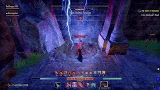 The Elder Scrolls Online: Tamriel Unlimited Magblade Dps Test 35.6k