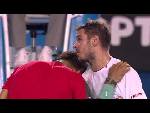 Thumbnail: Lessons in Class and Sportsmanship by Stan Wawrinka and Rafa Nadal