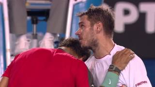 Lessons in Class and Sportsmanship by Stan Wawrinka and Rafa Nadal