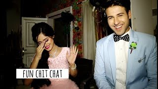 Ahaan & Pankti aka Jannat and Rithvik in FULL MASTI MOOD | Tu Aashiqui | Fun Bytes