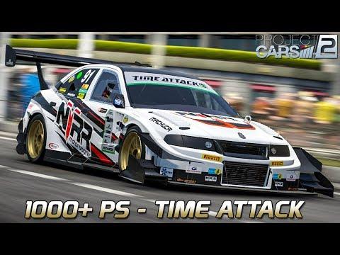 1000+ PS | Project CARS 2 German Gameplay [HD] [GER] Mitsubishi Lancer Evo VI SVA @ Cote d'azur