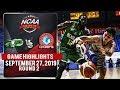 CSB Vs AU - September 27, 2019   Game Highlights   NCAA 95 MB