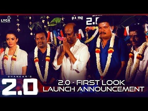 2.0 First Look Launch Announcement | Rajnikanth, Akshay Kumar,  Amy Jackson | Shankar | A.R. Rahman