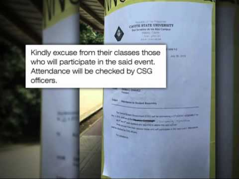 CHED probes 'required' attendance at Binay's TSONA