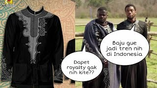 "Download Video VIRAL JAMAN NOW !! Baju Koko Black Panther ""Laris Manis"" diburu Netizen, Ternyata Harganya Segini MP3 3GP MP4"