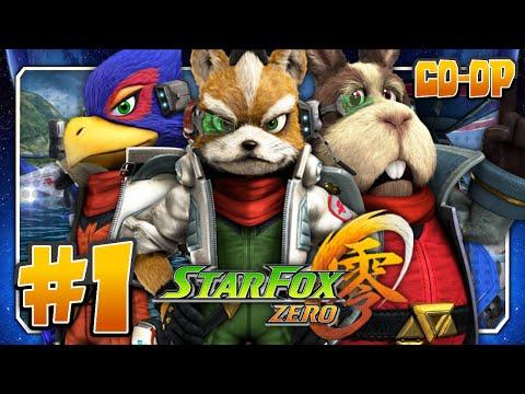 Star Fox Zero Co Op (w/Gamepad View) Part 1 - Corneria (2K 60FPS)