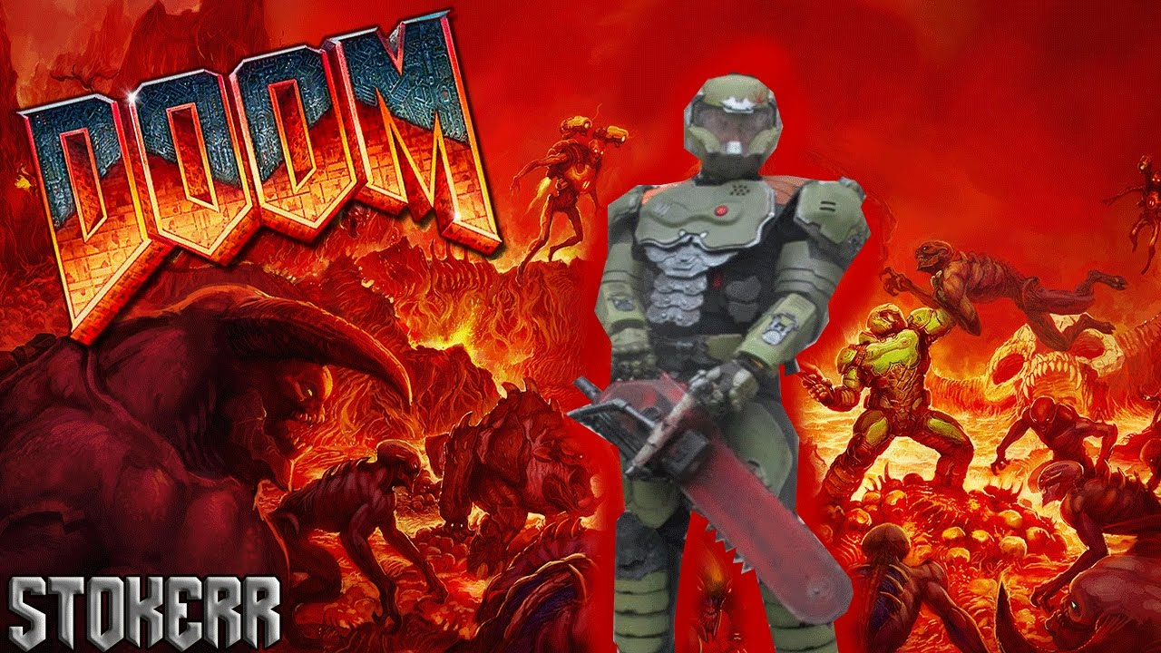 How To Make The Doom 2016 Doom Guy Praetor Suit Pt 7 Youtube
