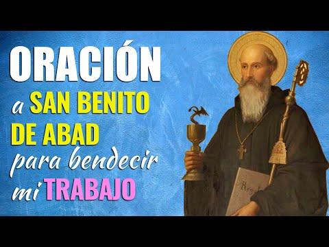 🙏 Oración MUY Poderosa a San Benito de Abad PARA EL TRABAJO 👷♂️