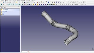 Freecad Mechanical Drawing Duct (ダクト)