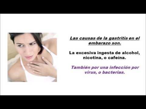 Gastritis en el embarazo tratamiento pdf