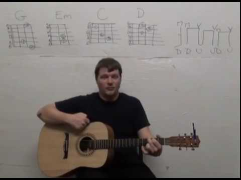 Last Kiss (PEARL JAM) Guitar Lesson How to Play G Em C D - Easy Strum Chords Beginner