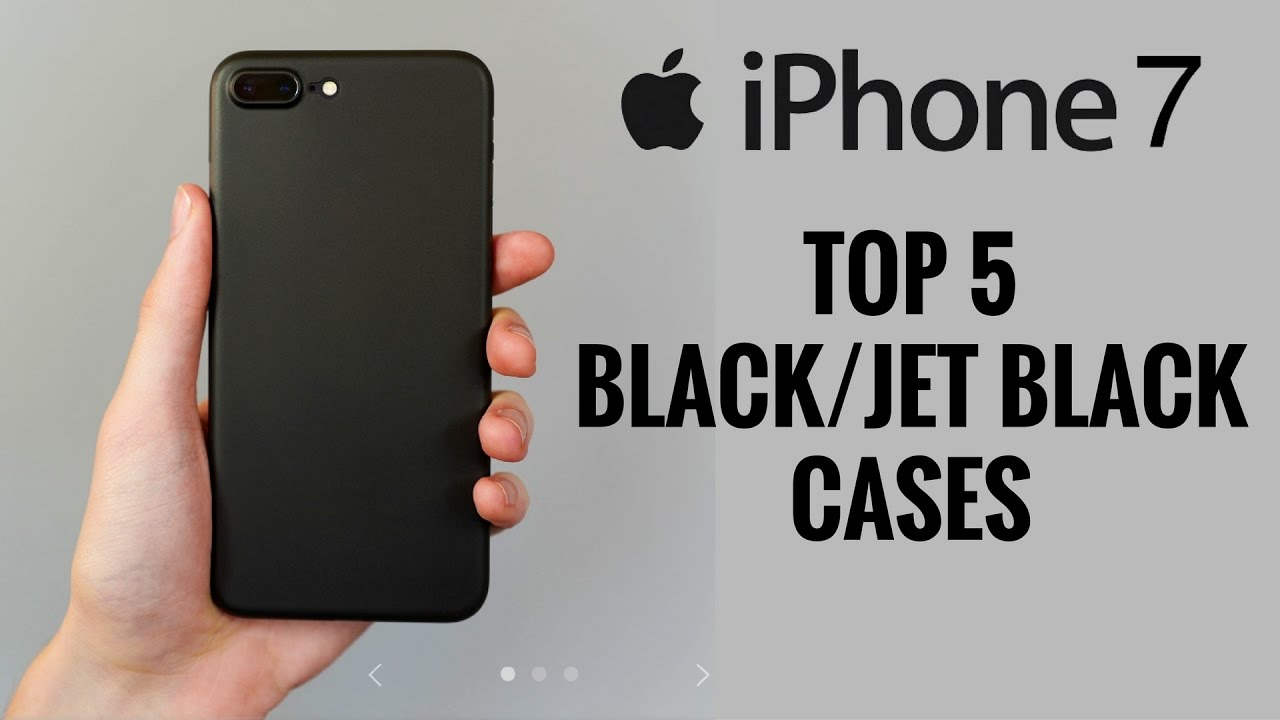 timeless design a9edc 674c0 Top 5 Black/Jet Black Cases for iPhone 7 and 7 Plus